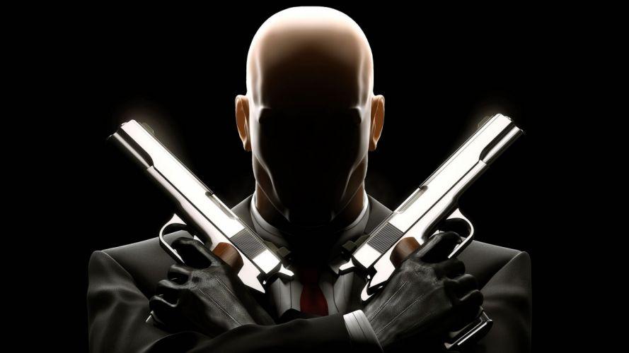 Hitman Agent 47 bald wallpaper