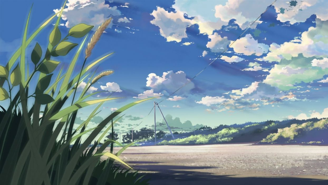 Makoto shinkai 5 centimeters per second wallpaper - 2d nature wallpapers ...