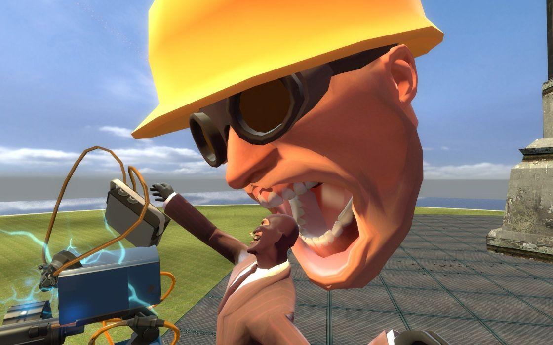 Engineer TF2 Spy TF2 Team Fortress 2 Garrys Mod wallpaper
