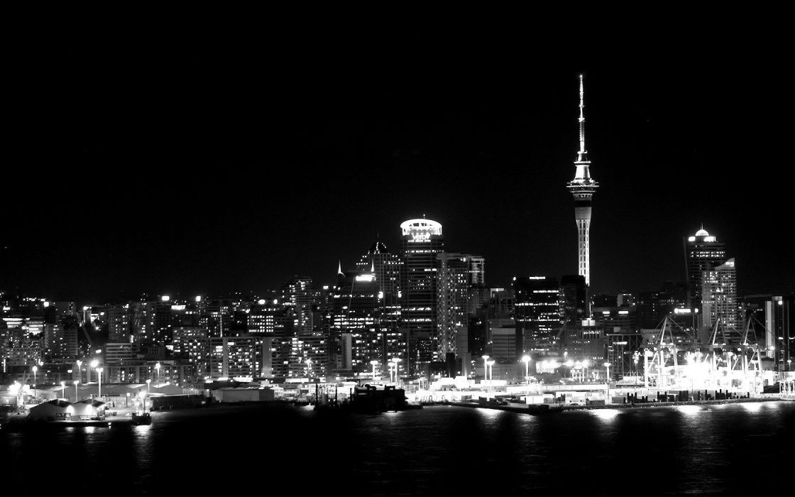 Cityscapes Skylines Grayscale Wallpaper 1680x1050 340009 Wallpaperup