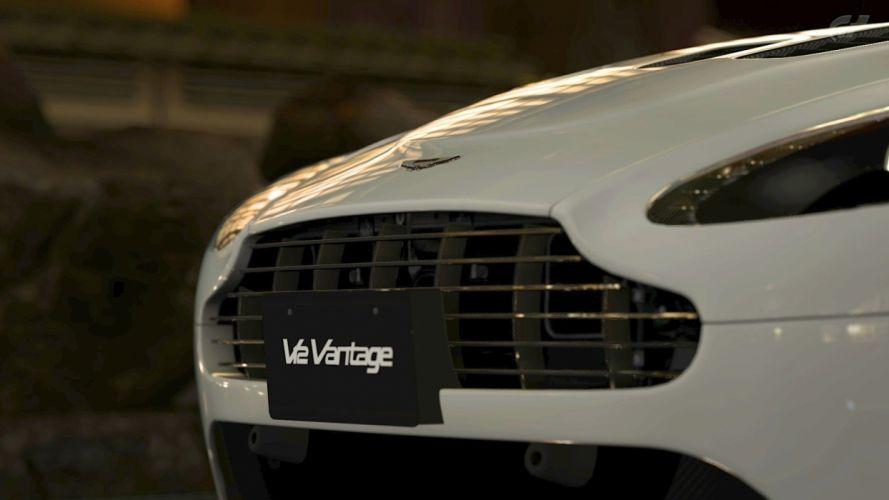 video games cars Gran Turismo Gran Turismo 5 Aston Martin V12 Vantage Aston Martin v12 vantage wallpaper