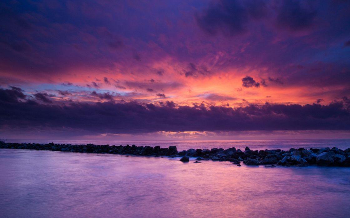 nature skyscapes sea wallpaper