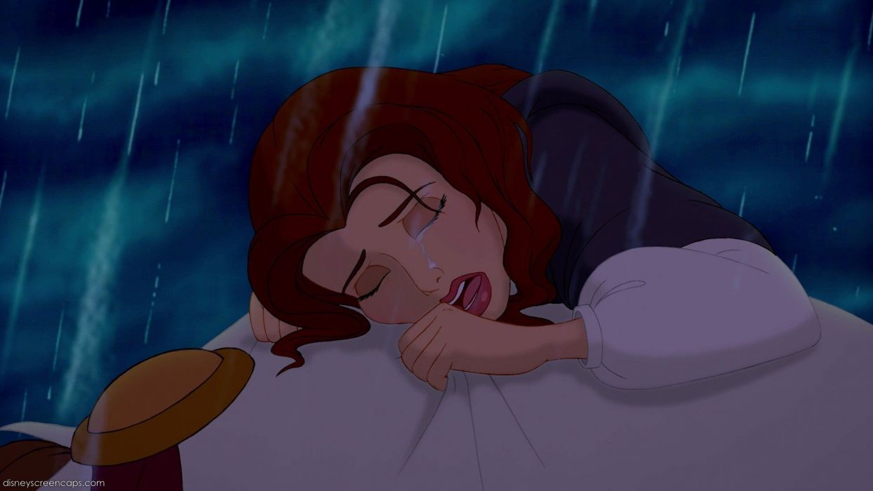 Disney Company movies crying Beauty And The Beast Belle (Disney) wallpaper