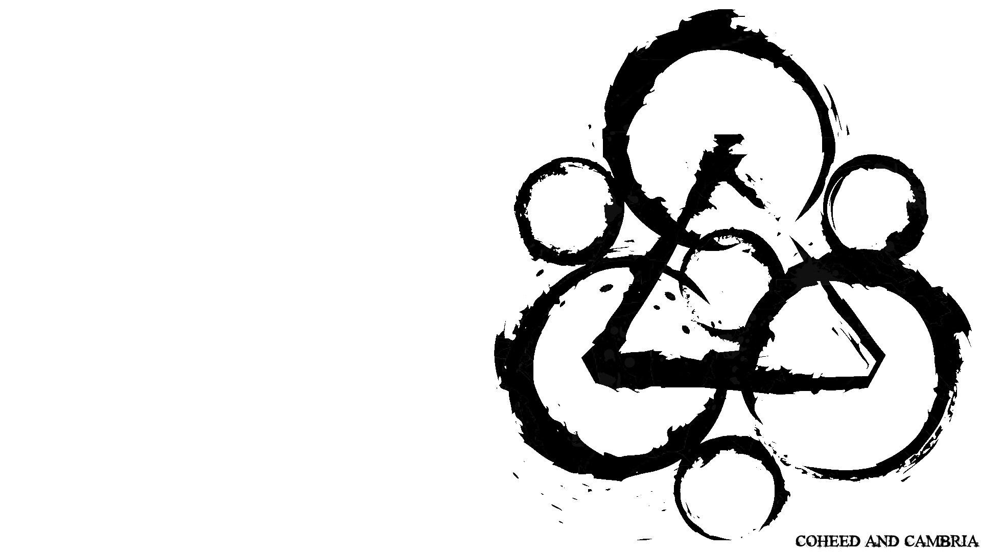 Coheed And Cambria Logos Wallpaper 1920x1080 340076 Wallpaperup