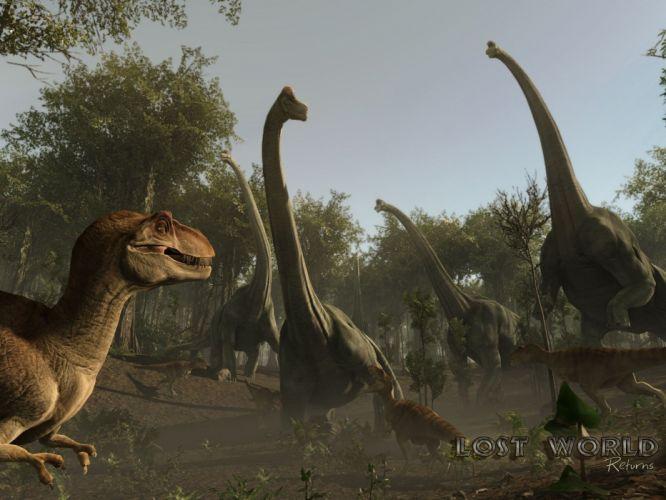 dinosaurs The Lost World wallpaper
