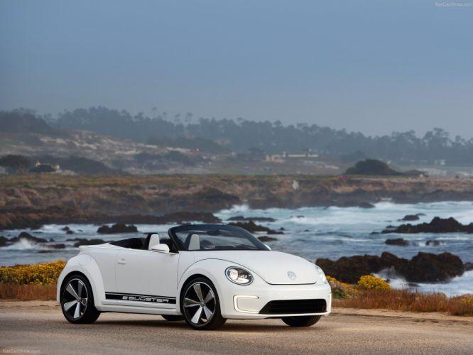 Volkswagen E-Bugster Speedster Concept 2012 wallpaper