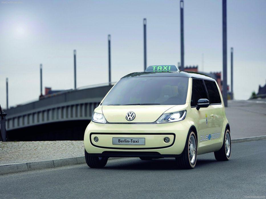 Volkswagen Berlin Taxi Concept 2010 wallpaper