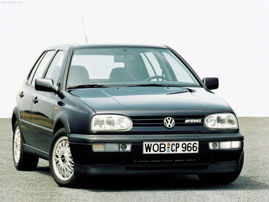 Volkswagen Golf III VR6 1992 wallpaper