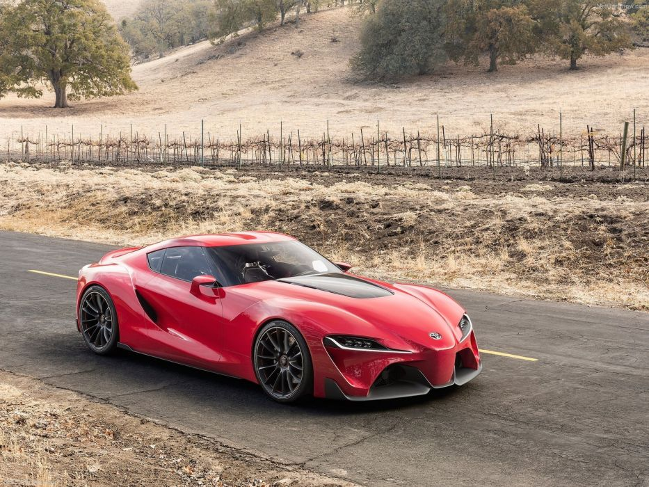 Toyota FT-1 Concept 2014 wallpaper