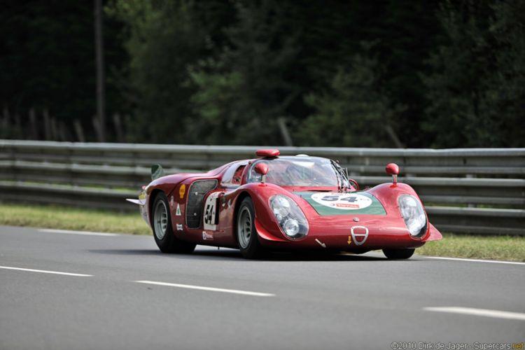 car classic race racing gt alfa romeo italy red wallpaper