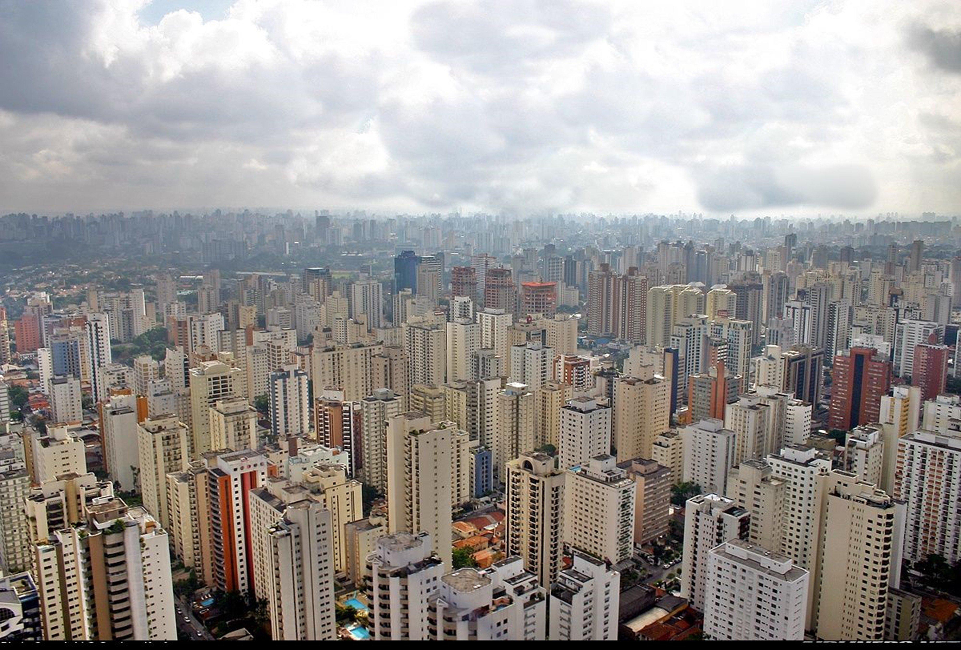 America City Wallpaper Sao Paulo City Megapole South
