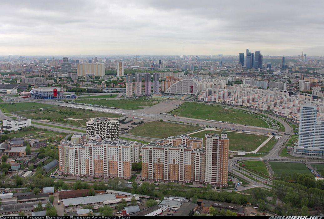 Airport Khodynskoe Pole Moscou Russia city 4000x2707 wallpaper