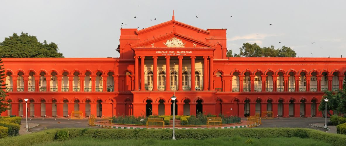 High Court of Karnataka Bangalore India red 4000x1689 wallpaper