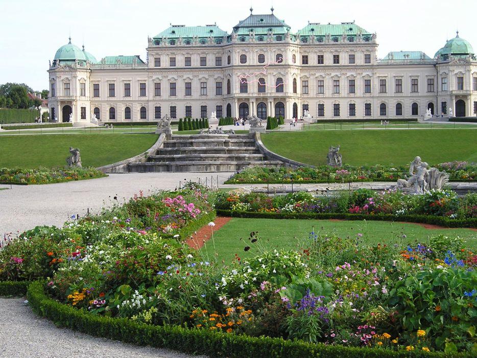 viena palace austria europe 4000x3000 wallpaper