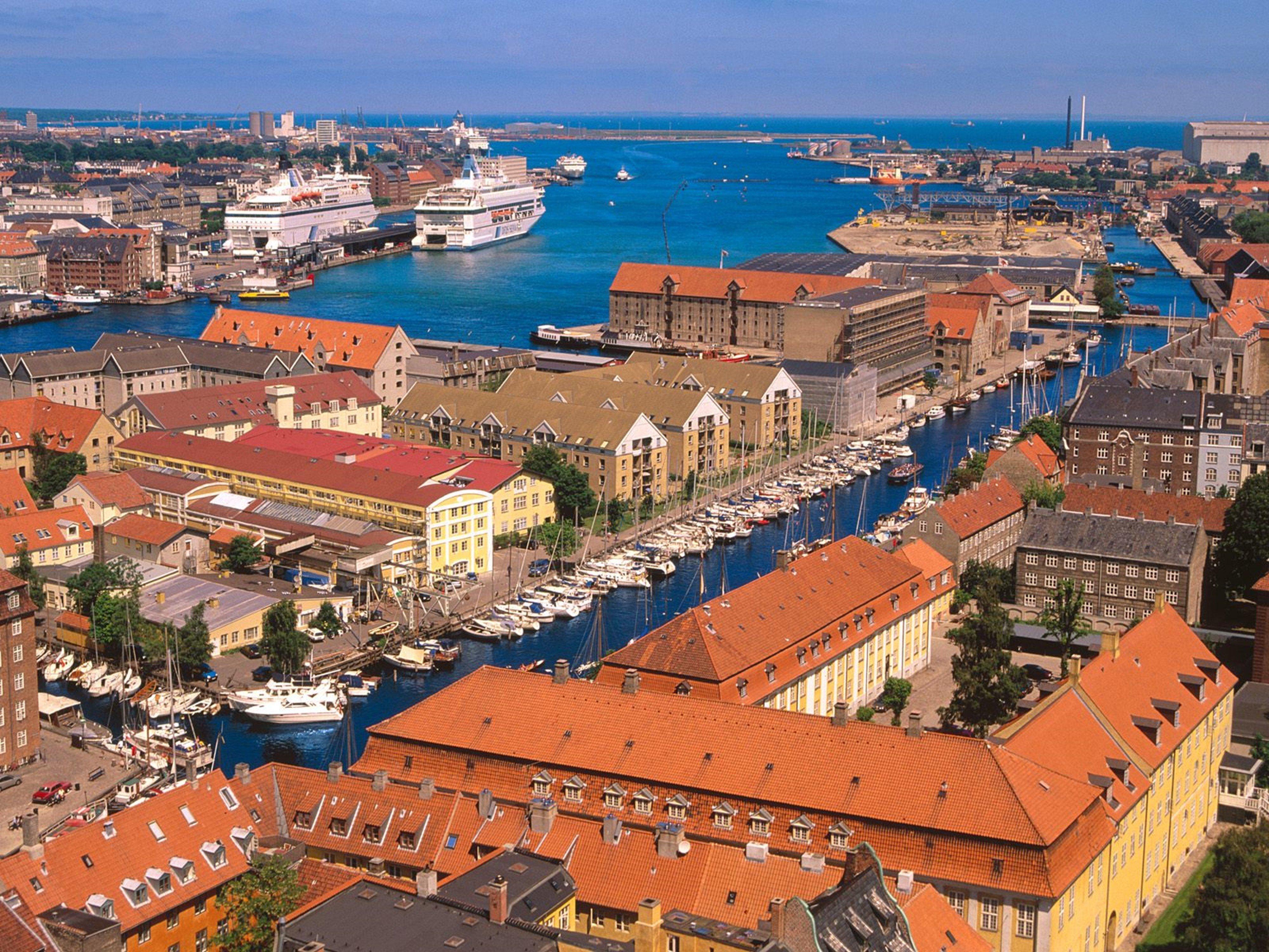 Copenhagen harbor denmark city europe 4000x3000 wallpaper 4000x3000 340297 wallpaperup - Copenhagen wallpaper ...