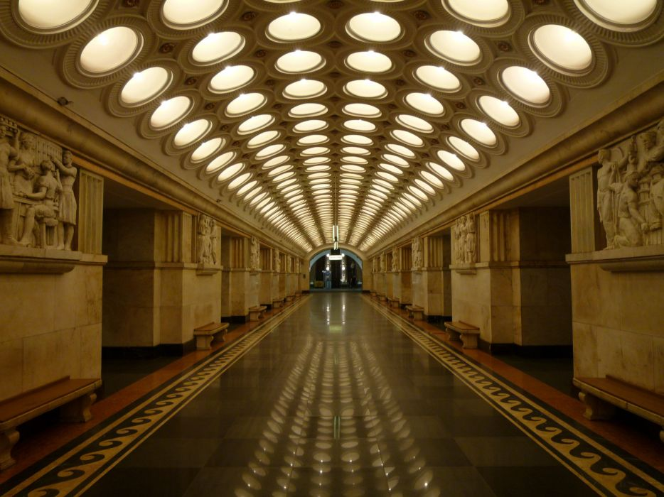 moscow russia city europe metro wallpaper