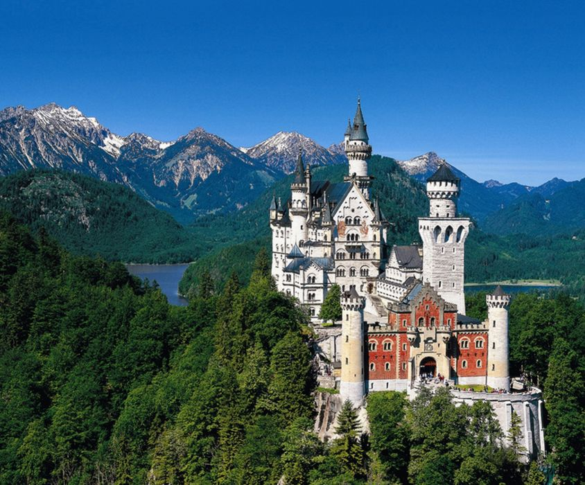 Neuschwanstein alp germany europe Castle wallpaper