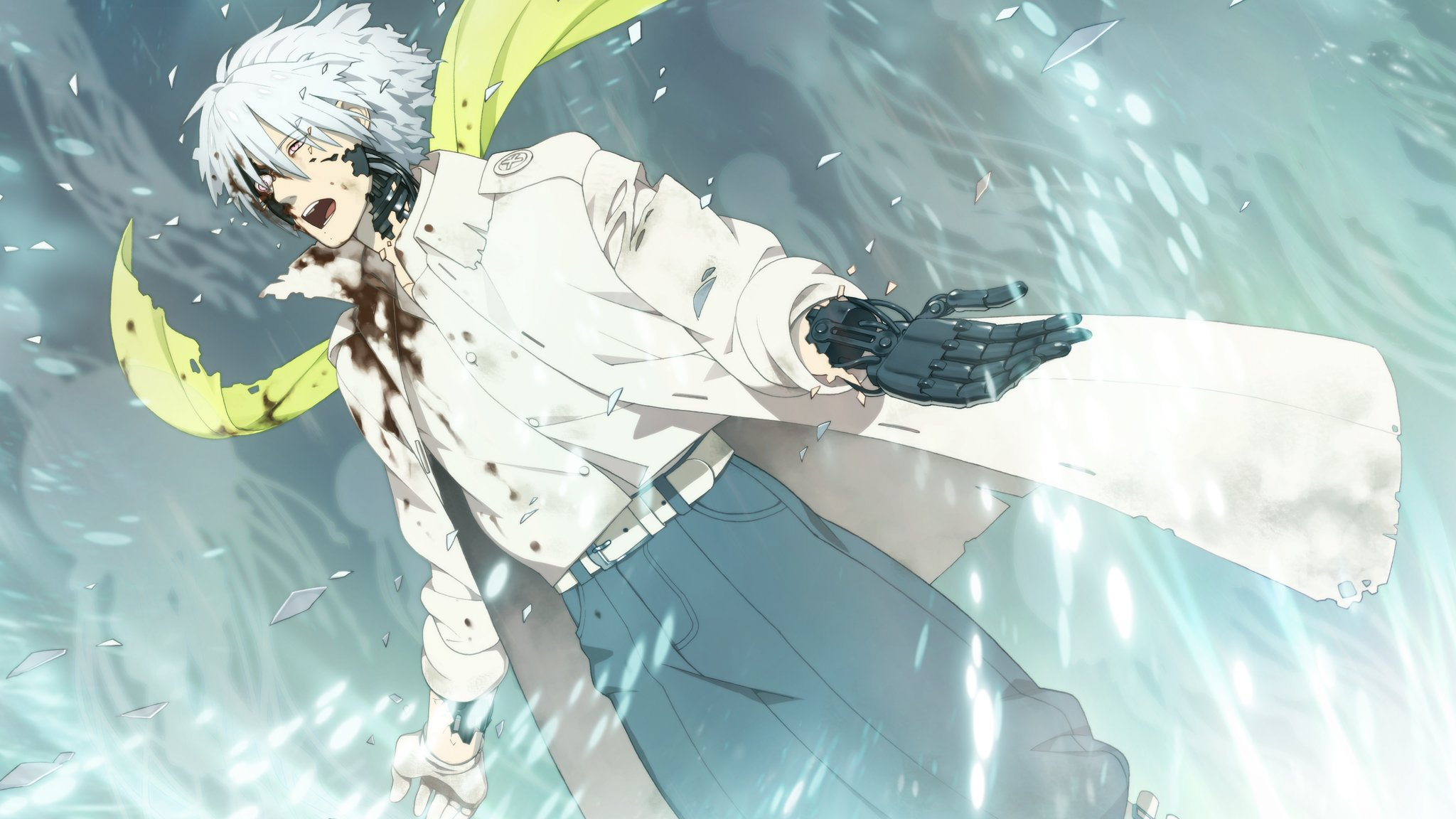 DRAMAtical Murder Clear f wallpaper | 2048x1152 | 340750 ...
