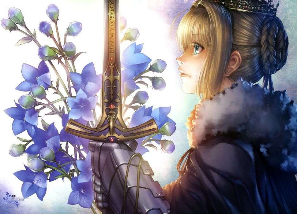 Fate stay night Saber     g wallpaper