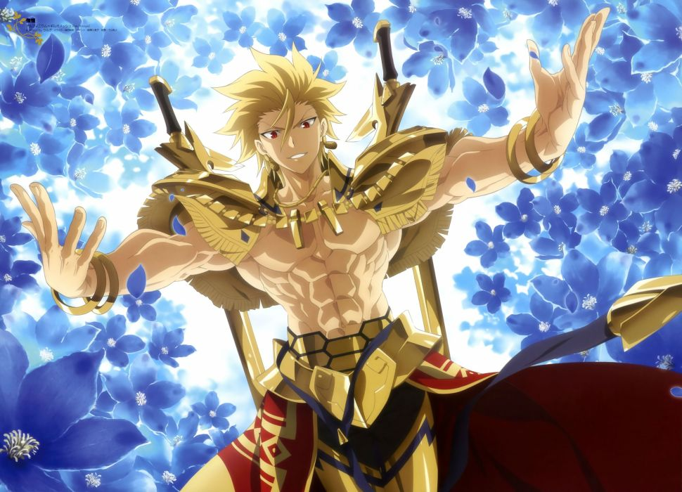 Fate Stay Night Gilgamesh G Wallpaper 4000x2887 340768