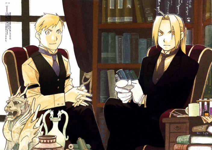 Fullmetal Alchemist Elric Brothers w wallpaper