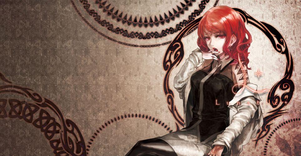 horikawa raiko long hair red eyes red hair touhou xero wallpaper