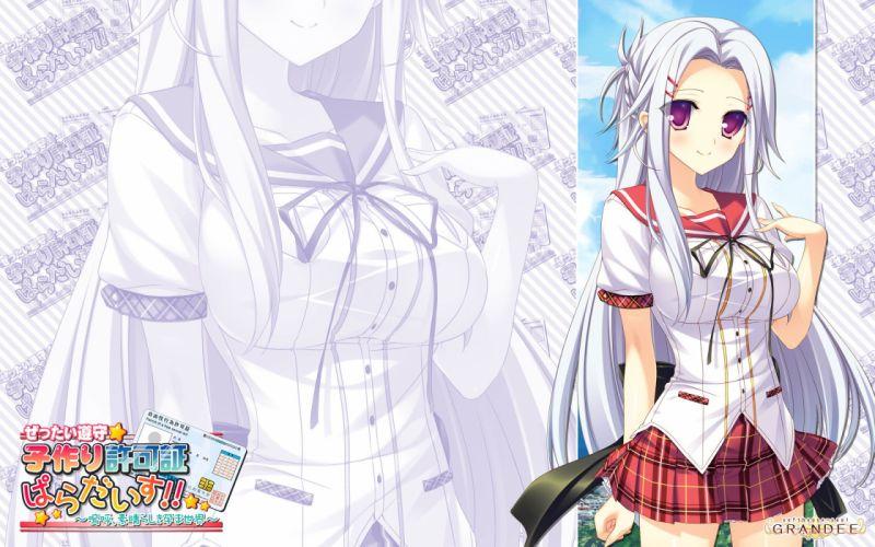 Zettai Junshu Kozukuri Kyokashou Paradise!! h wallpaper