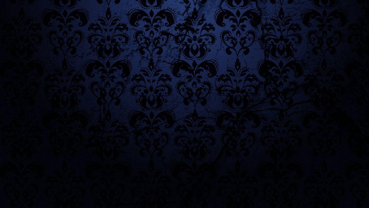 Minimalistic Patterns Damask Wallpaper