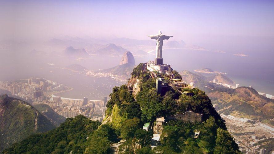 nature Rio De Janeiro skies wallpaper