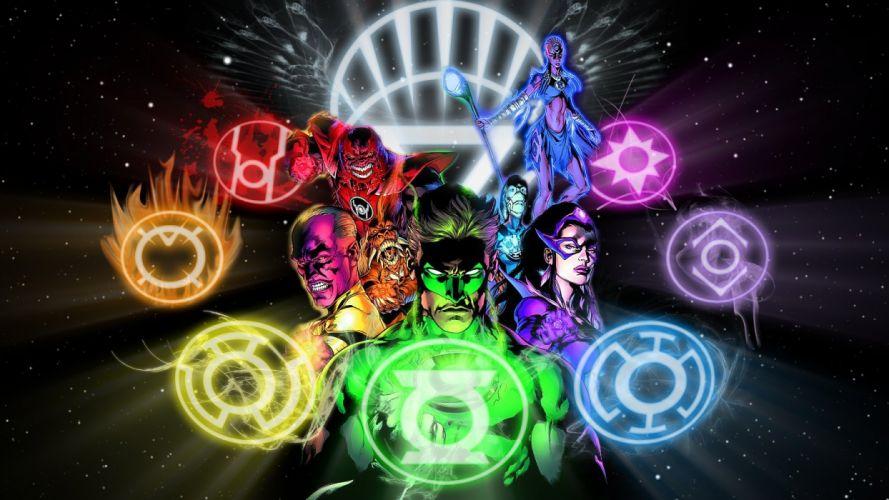 Green Lantern DC Comics White Lantern Larfleeze Atrocitus Blackest Night Saint Walker sinestro wallpaper