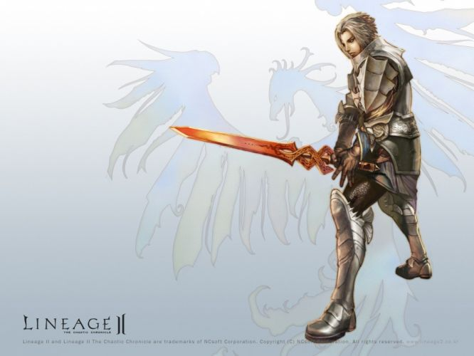 video games Lineage wallpaper