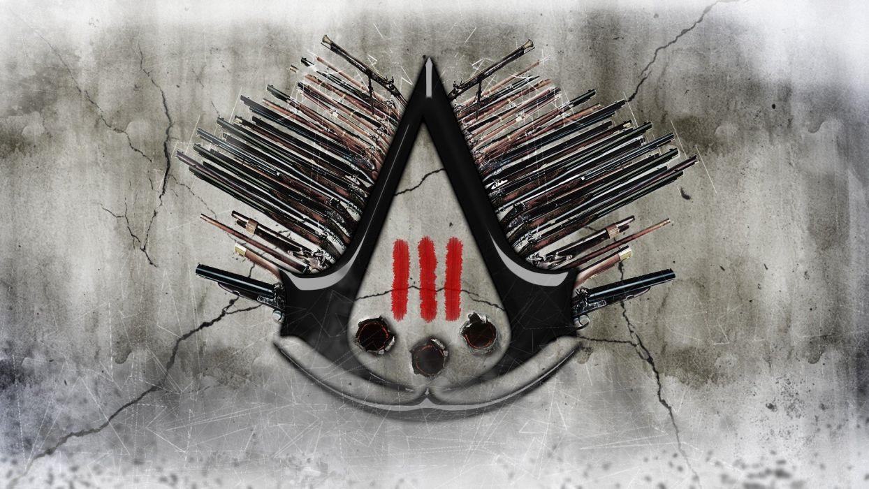 guns Assassins Creed 3 wallpaper