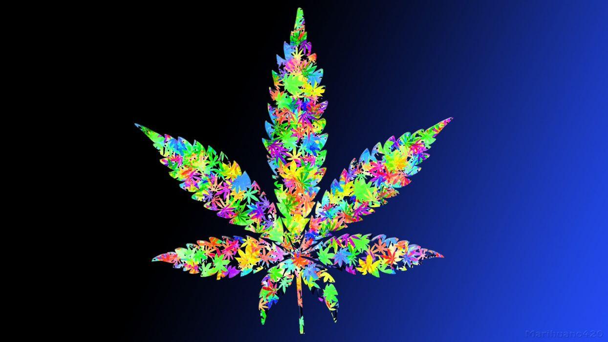 leaf drugs leaves marijuana weeds wallpaper