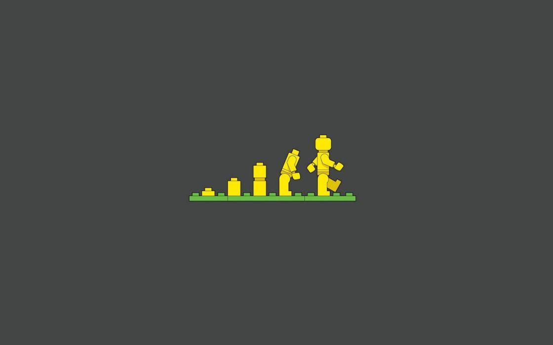evolution Legos wallpaper