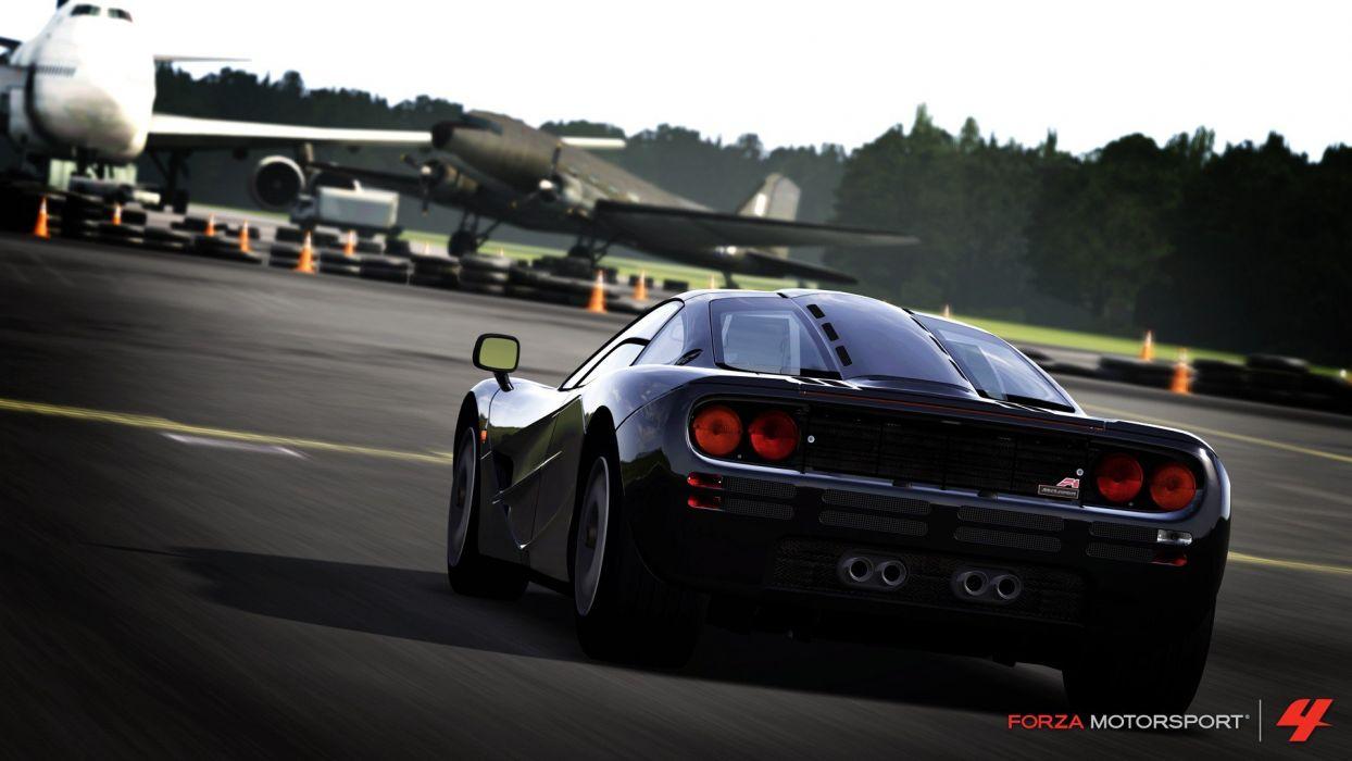 video games cars vehicles Xbox 360 McLaren F1 Forza Motorsport 4 wallpaper