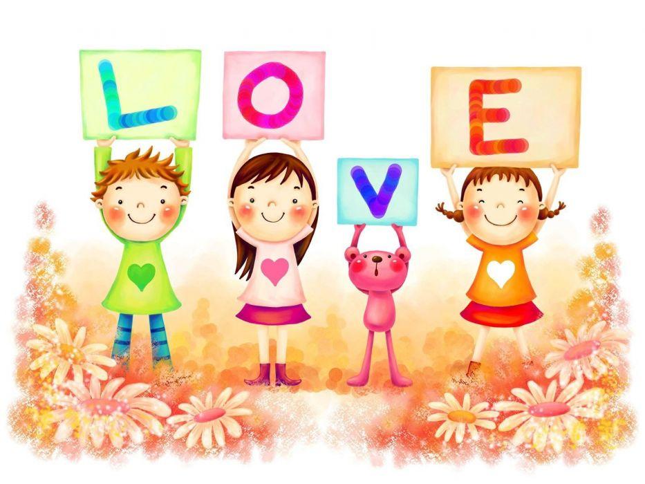 love children wallpaper