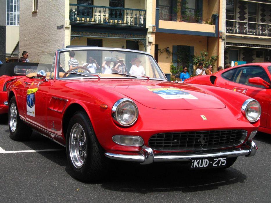 cars Ferrari vehicles classic cars wallpaper