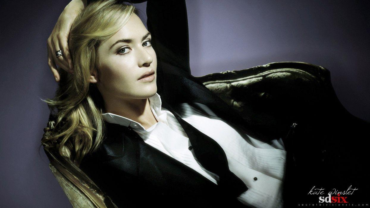 blondes women Kate Winslet actress models rings celebrity wallpaper