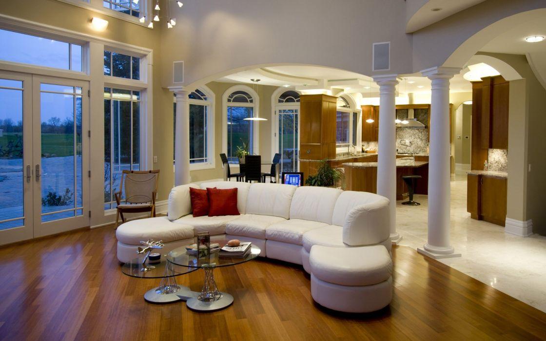 architecture room interior design wallpaper