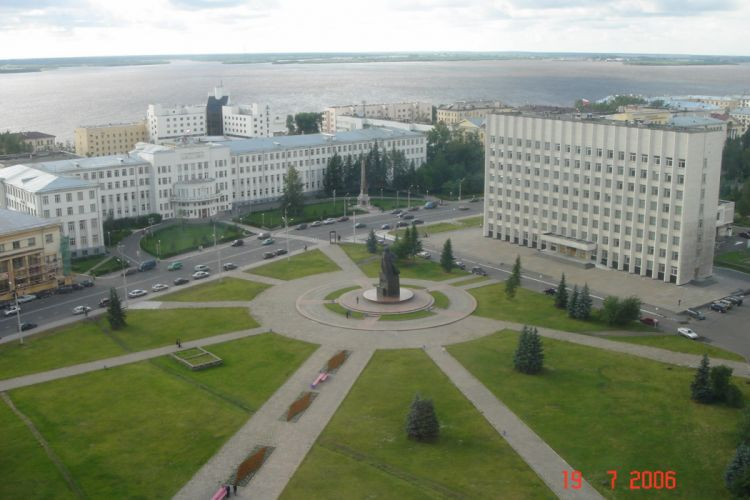 arkhanguelsk russia city place wallpaper