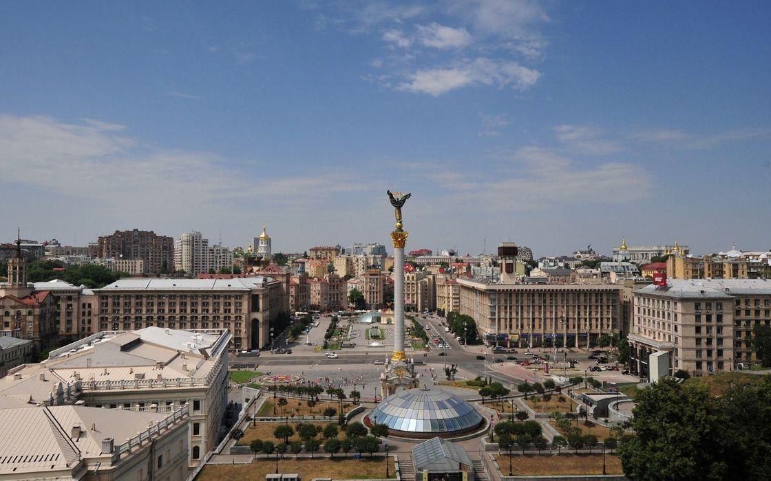 Kiev Ukraine Capital cityscape city europe wallpaper