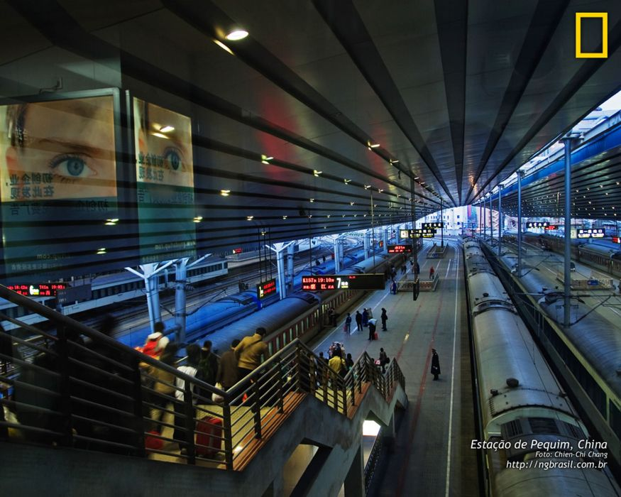 national geographic beijing china station train city asia wallpaper