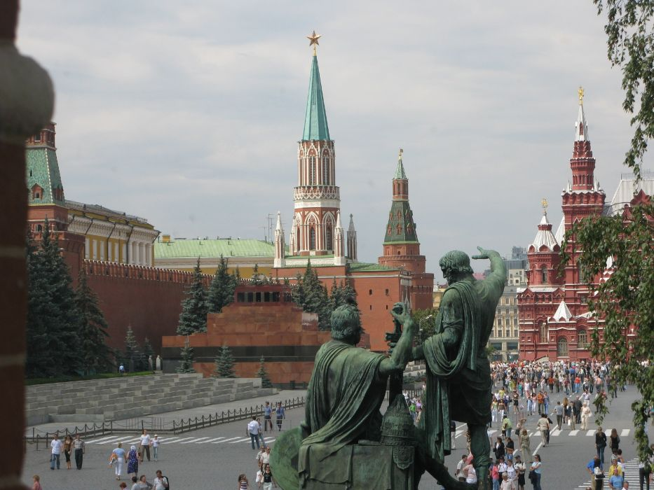 red place moscow russia city europe wallpaper