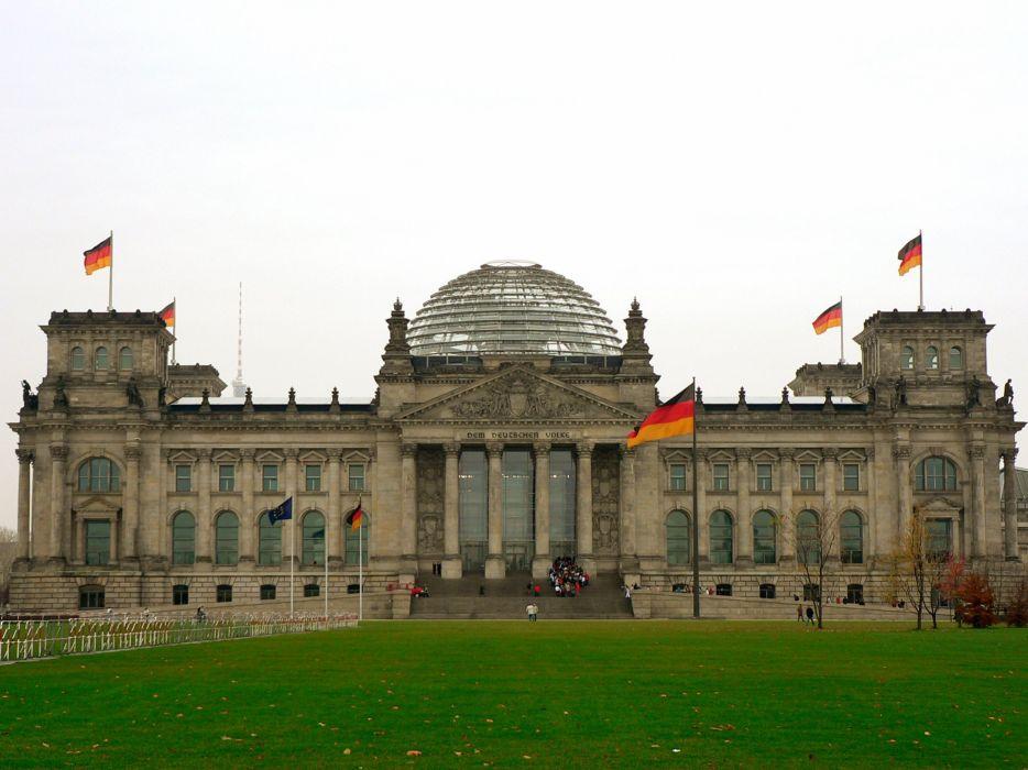 reichstag germany berlin europe wallpaper