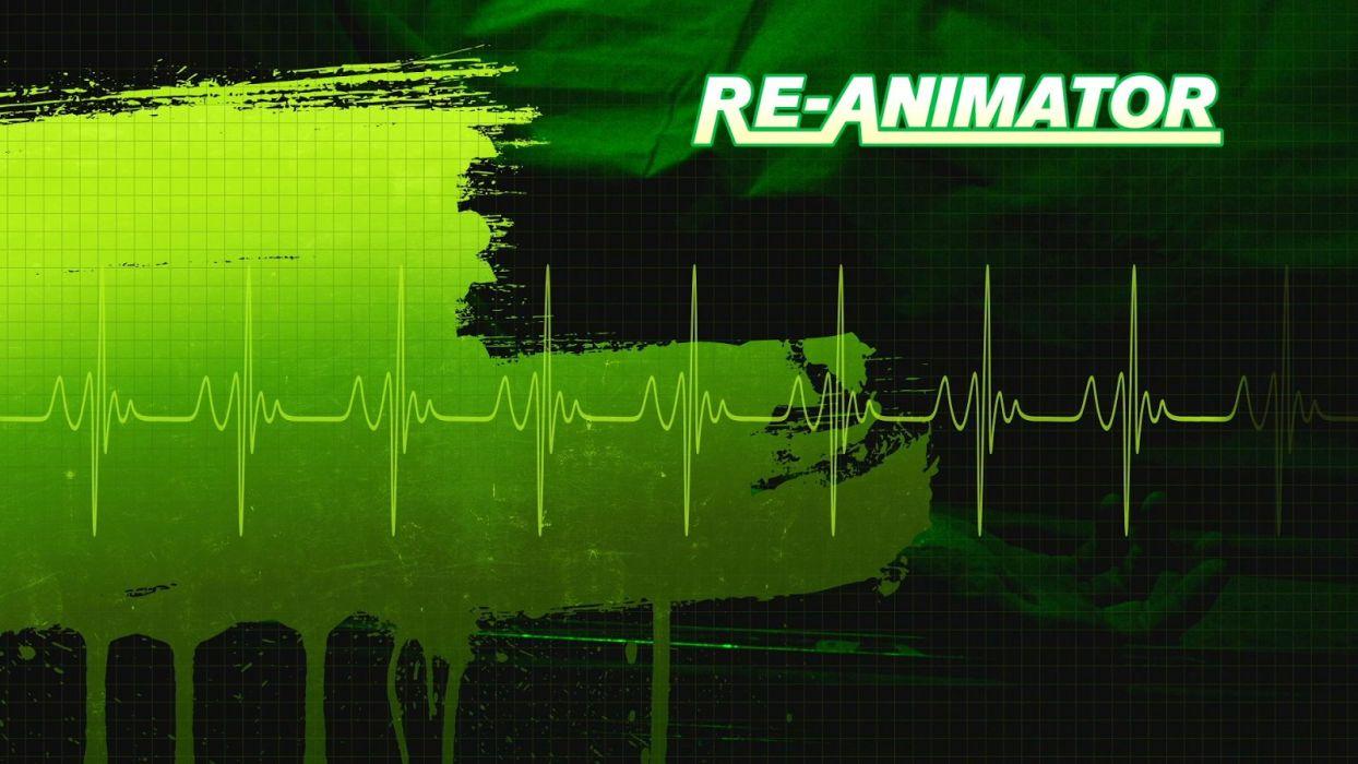 RE-ANIMATOR horror sci-fi dark movie film gore animator beyond (3) wallpaper