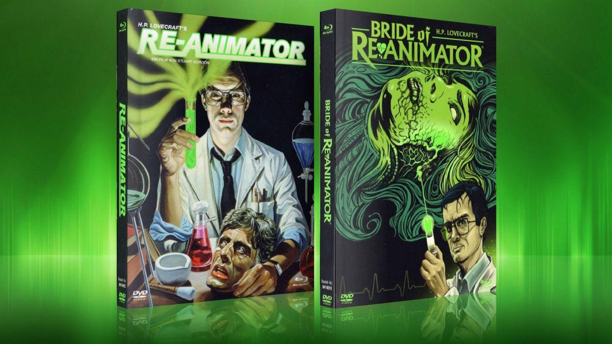 RE-ANIMATOR horror sci-fi dark movie film gore animator beyond (9) wallpaper