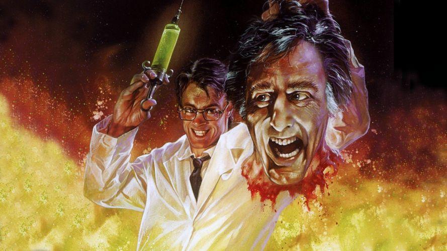 RE-ANIMATOR horror sci-fi dark movie film gore animator beyond (35) wallpaper