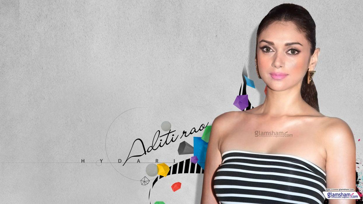 ADITI RAO HYDARI bollywood actress model babe (23) wallpaper