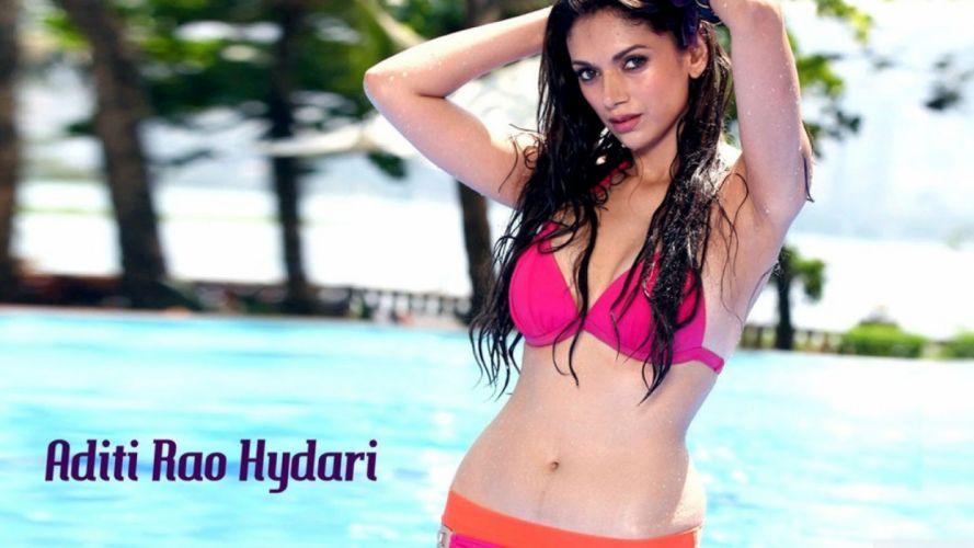 ADITI RAO HYDARI bollywood actress model babe (26) wallpaper