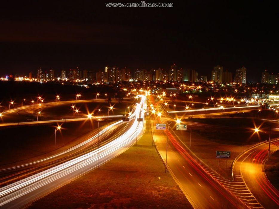 traffic night  SA wallpaper
